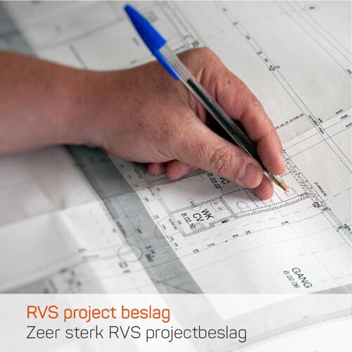 Zeer sterk projectbeslag